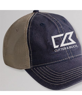 Tea Stained Mesh Back Cap